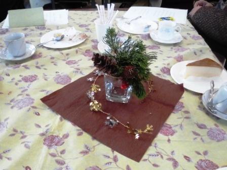 テーブル飾り圧縮