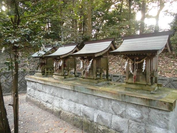 圧縮熊野神社4神様