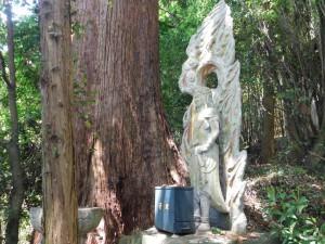 25-水行場の不動明王像