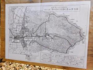4-向山連山登山案内図