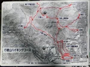 3-登山口の地図