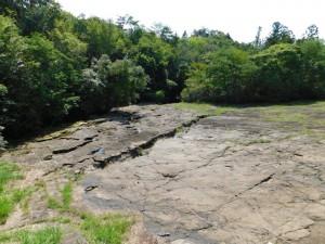 8-流紋岩の岩盤