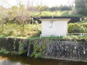 17-斜樋・底樋からの池尻川流入口?