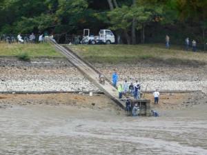 7-底樋の泥除去