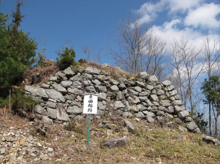 10-三の丸跡の石垣